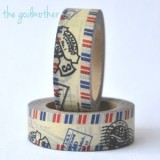 "Washi tape ""Vintage Air Mail"""