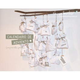 Calendario de adviento. Imprimible.