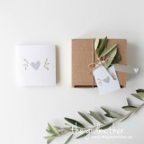 Mini tarjetas packaging 'AMOR'